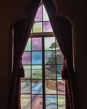 Rainbow Stained Glass Windows Ca' d'Zan