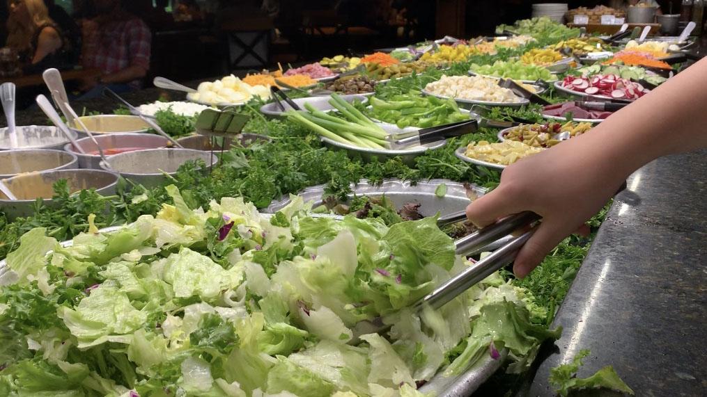 Peddler Restaurant Salad Bar