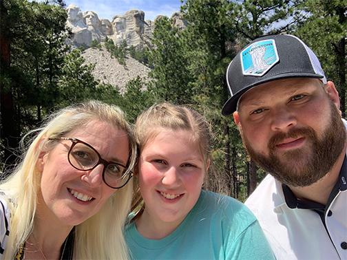 Mount Rushmore Family Photo