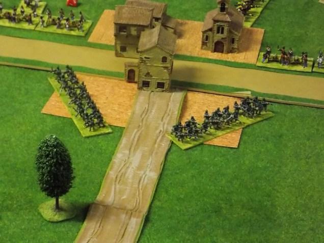08. Austrian Jaegers defend the village