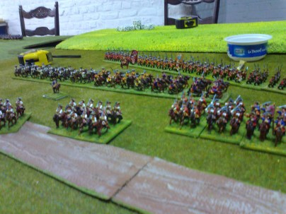 014 Hanoverians taking up position 2