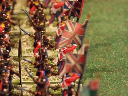 004 British Infantry side view up close