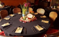 Seated Dinner Amor Centerpiece