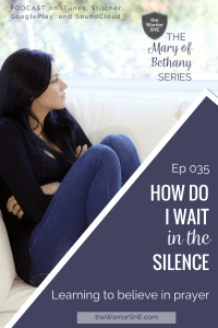 035.How Do I Wait in the Silence.pin