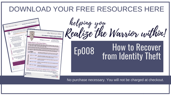 008.How to Recover from Identity Theft