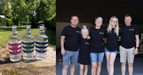 Rugby Distillery Gin
