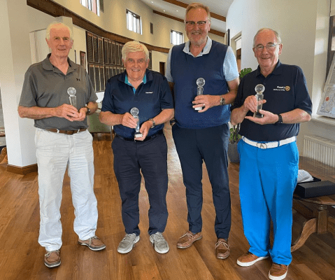 Henley-in-Arden Rotary Club, golf day, Triple80HospiceTrek