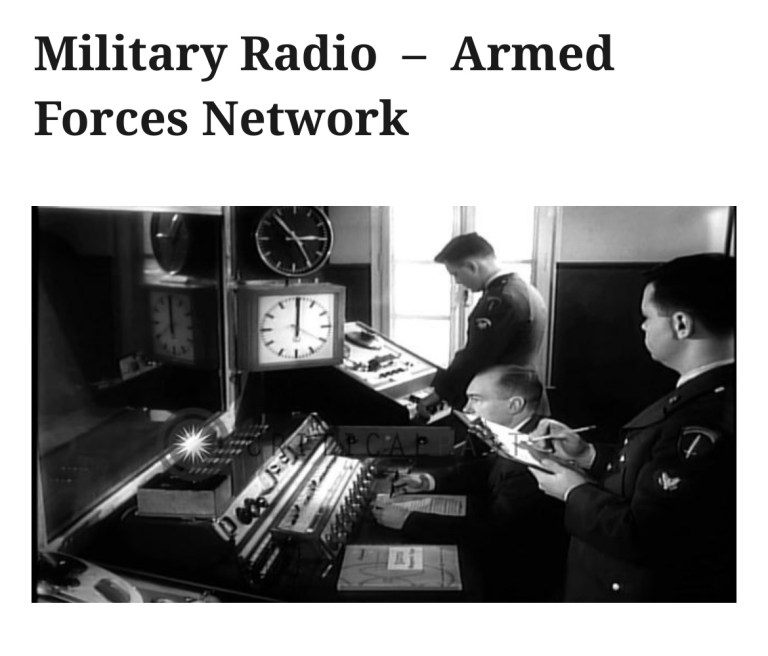 Military Radio  –  Armed Forces Network