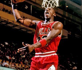 Chicago Bulls, Michael Jordan 1987-88.
