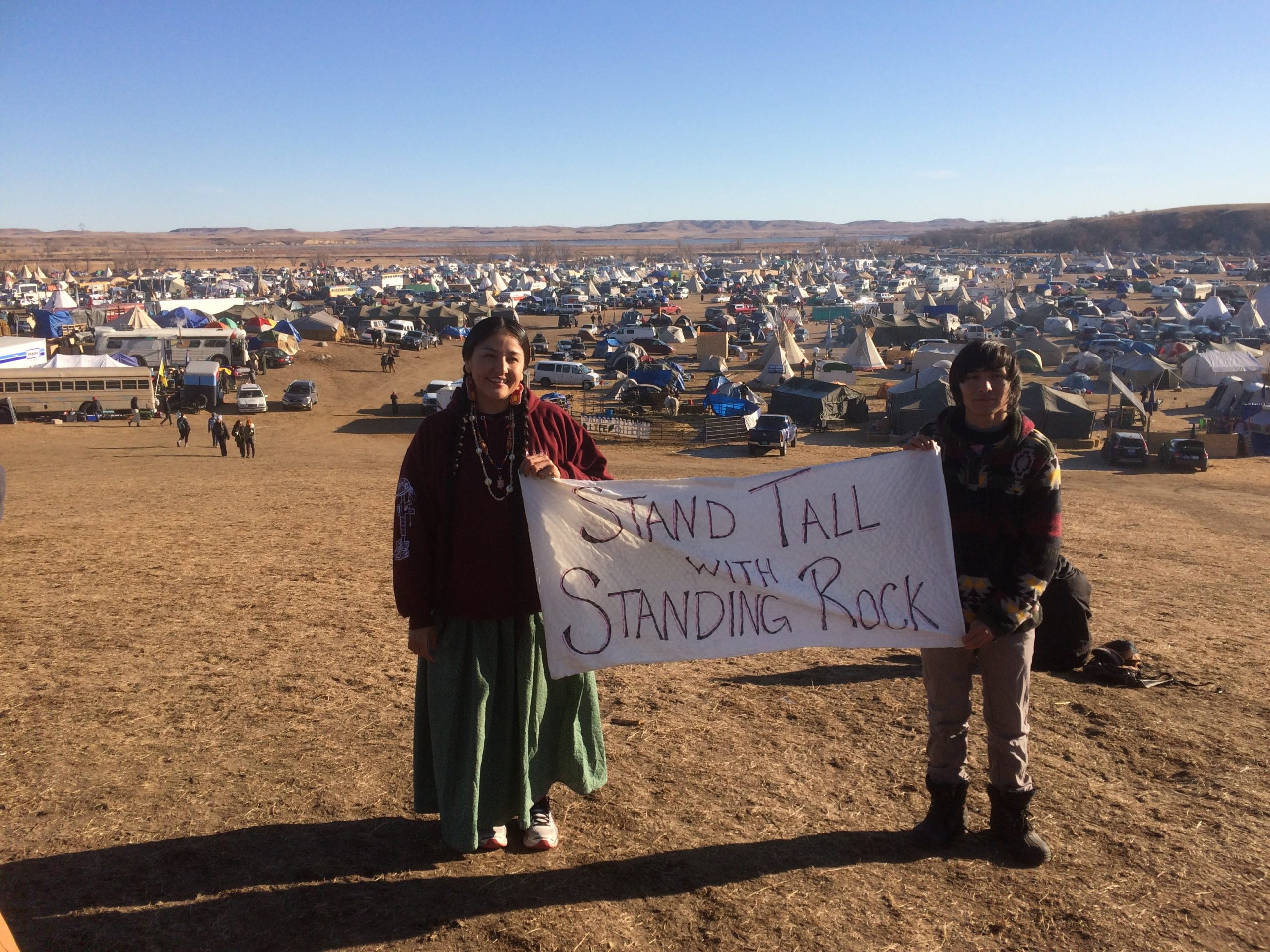 Stand tall with standing rock