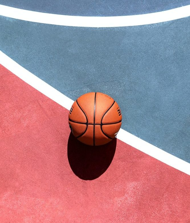 basketball red and blue