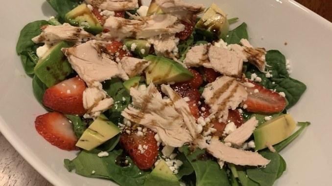 Strawberry Chicken Summer Salad