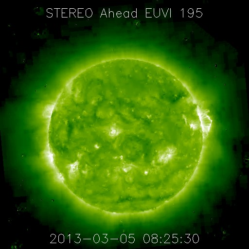 March 5, 2013 - Full halo Coronal Mass Ejection (CME)