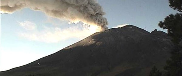 Popocatepetl volcano in Mexico experienced strongest eruption after some time on March 7, 2013.  The volcano has been showing signs of activity since February 2013, and according to reports is now entering a new phase of increased activity. A sequence of exhalations accompanied by emissions steam, gas and moderate amounts of ash occurred. It was observed that some of them had expelled incandescent fragments falling on the slopes of the volcano, mainly in the northeast flank. The Popo seismogram showed frequent, relatively strong local earthquakes  with a few exhalation signals later on the record. The seismic signal shows numerous volcanic quakes, but less tremor generated...