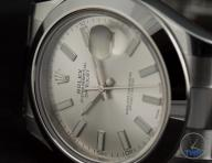 Rolex Oyster Perpetual Datejust II: Hands-On Review [116300 Silver Index] - Low key Rolex photo