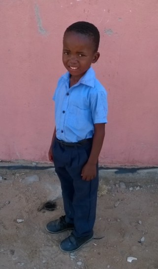 Letabo Kids Club providing school uniform