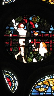 Adam & Eve picking the Fruit (probably William Morris or Edward Burne-Jones)