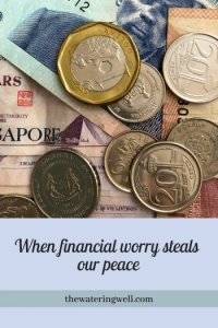 Are Finances Stealing Your Peace?