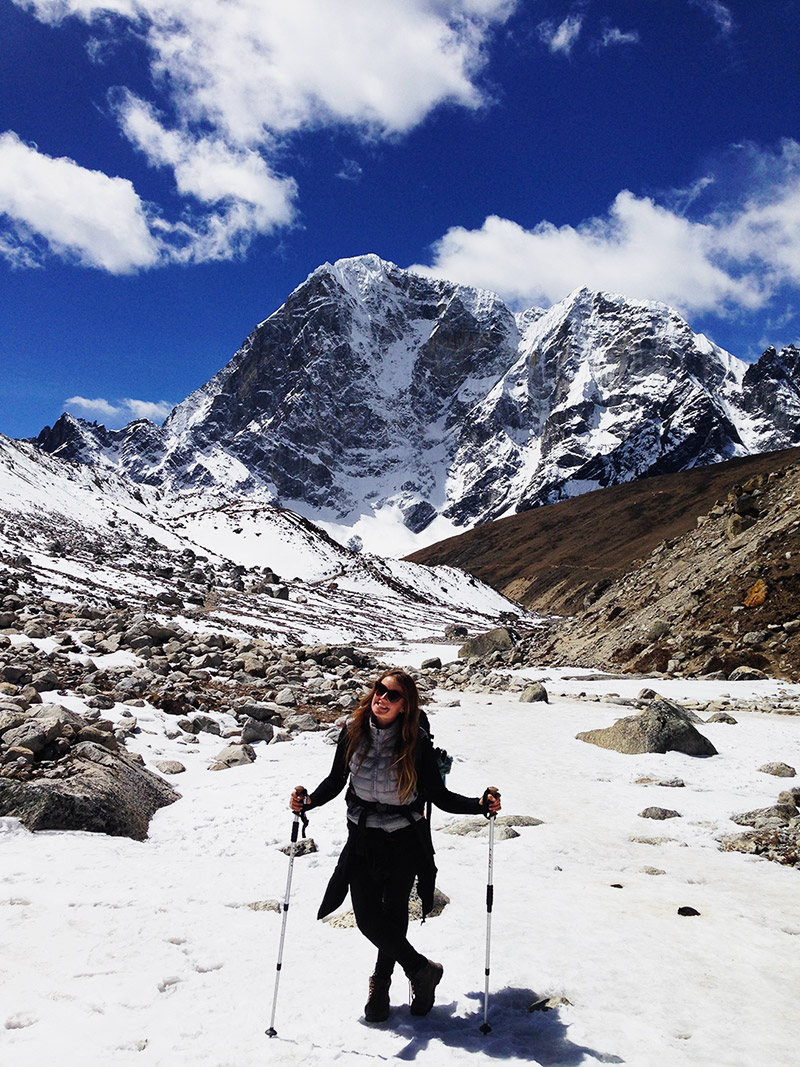 me glacier trekking hiking adventure travel everest base camp