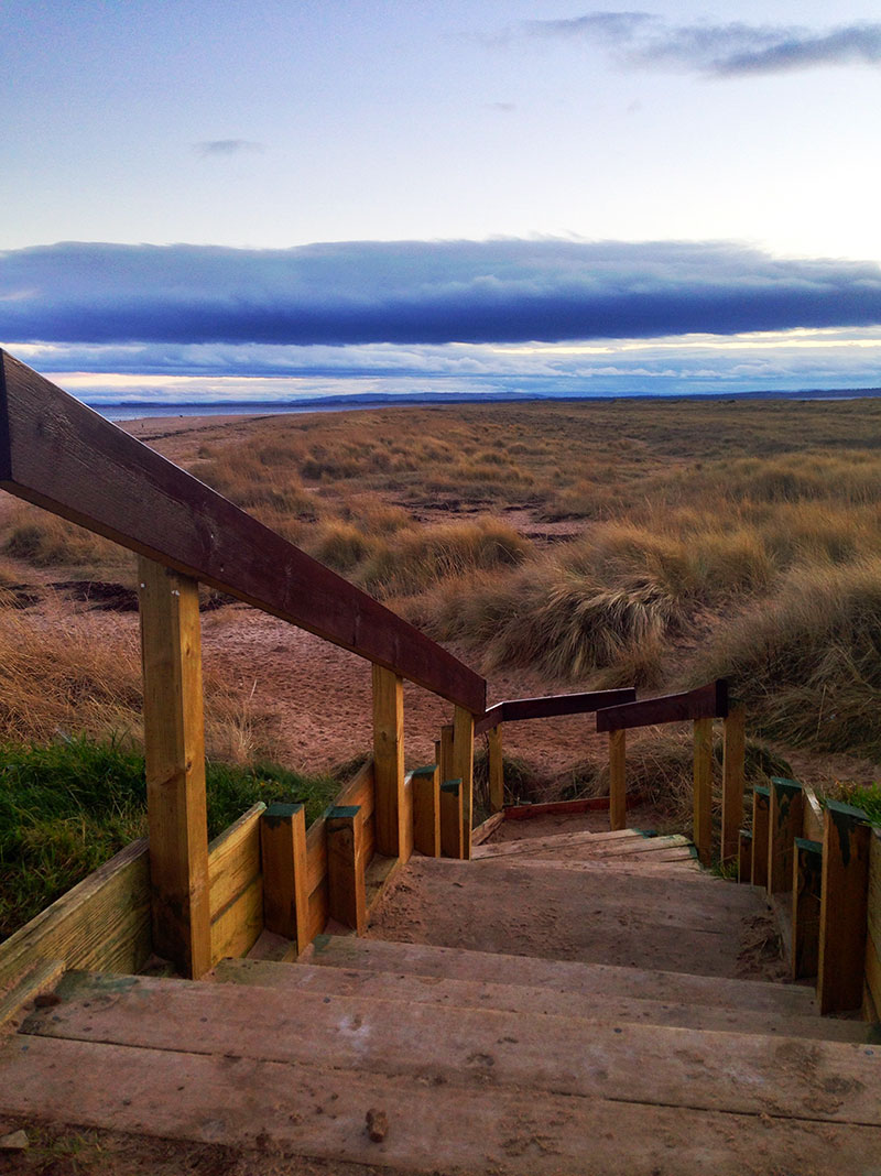 scotland-photo-diary-steps-beach