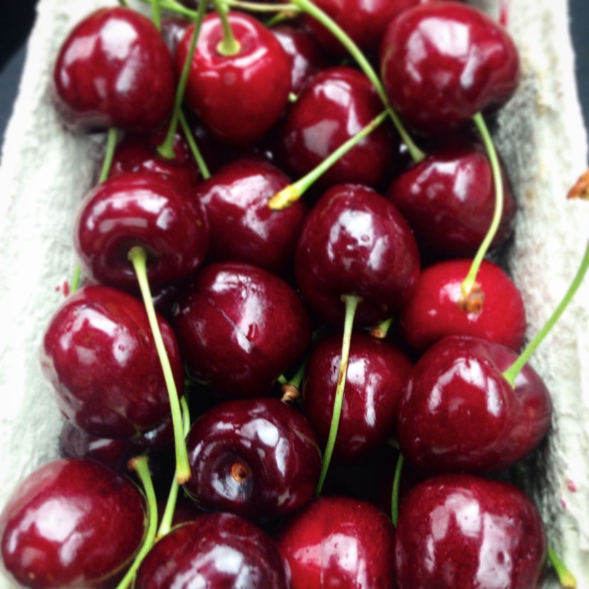 july diary black forest cherries
