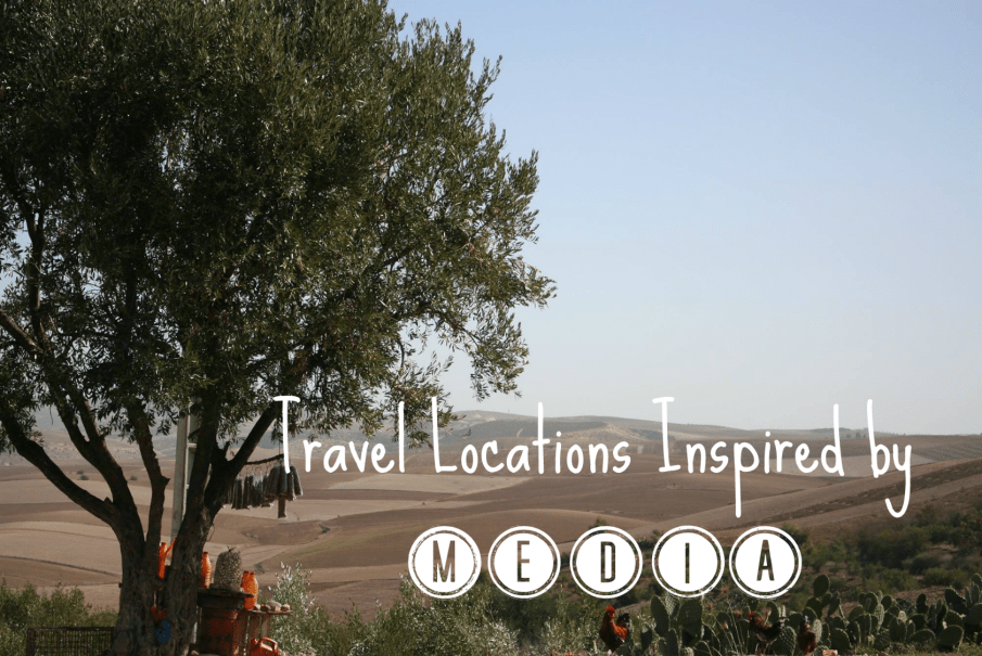 travel locations inspired by media