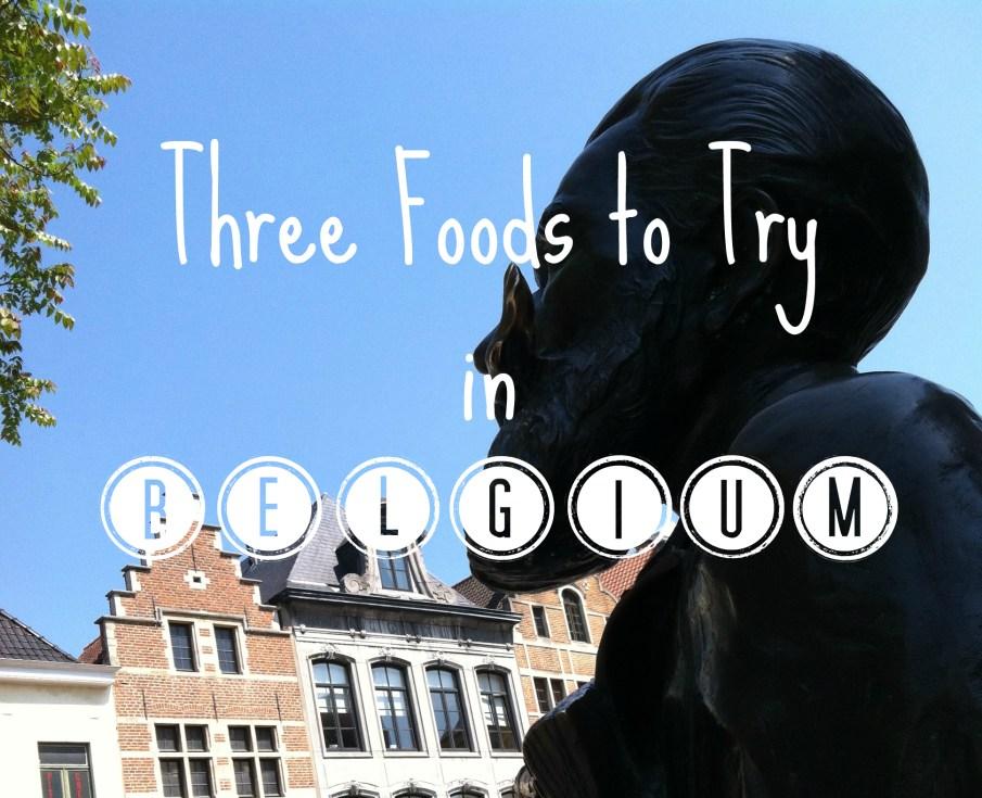 foods in belgium