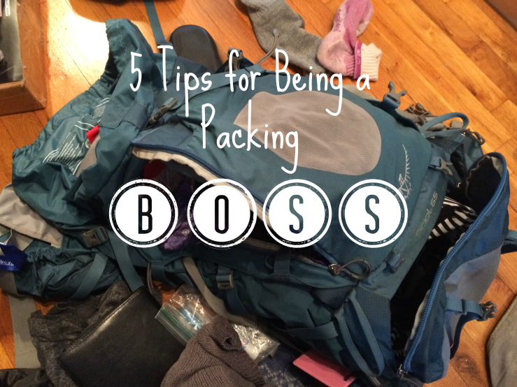 5 tips for packing