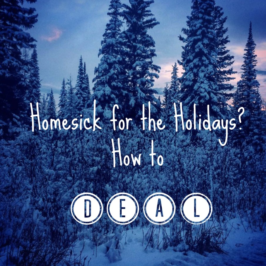 homesick for the holidays