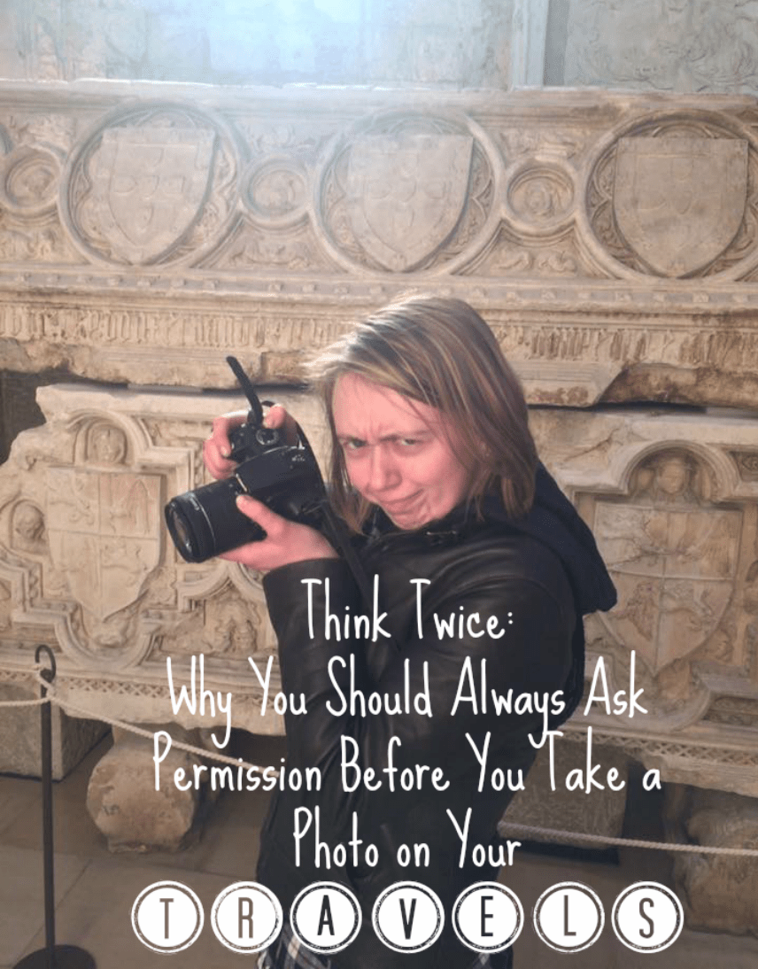 ask permission before taking photos