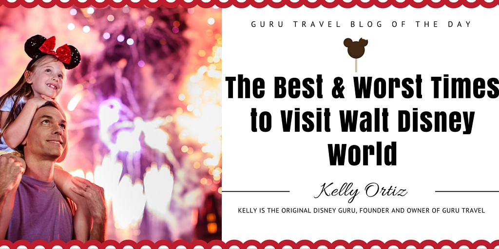 Best and Worst Times to Visit Walt Disney World
