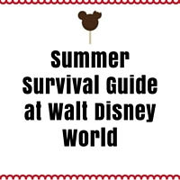 Summer Survival at Walt Disney World