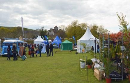 firle-garden-show-church