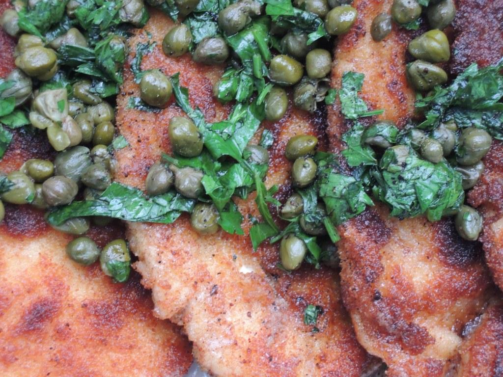 Chicken, sauteed chicken cutlets, schnitzel 2