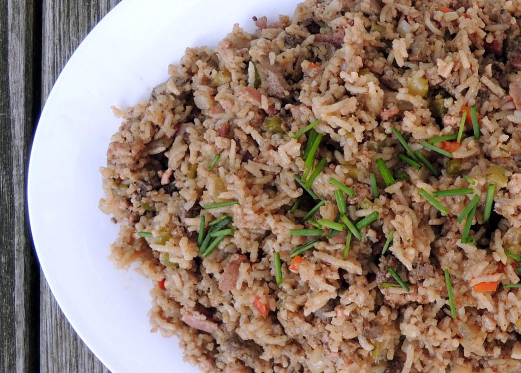 Rice, white rice, bayou dirty rice 2