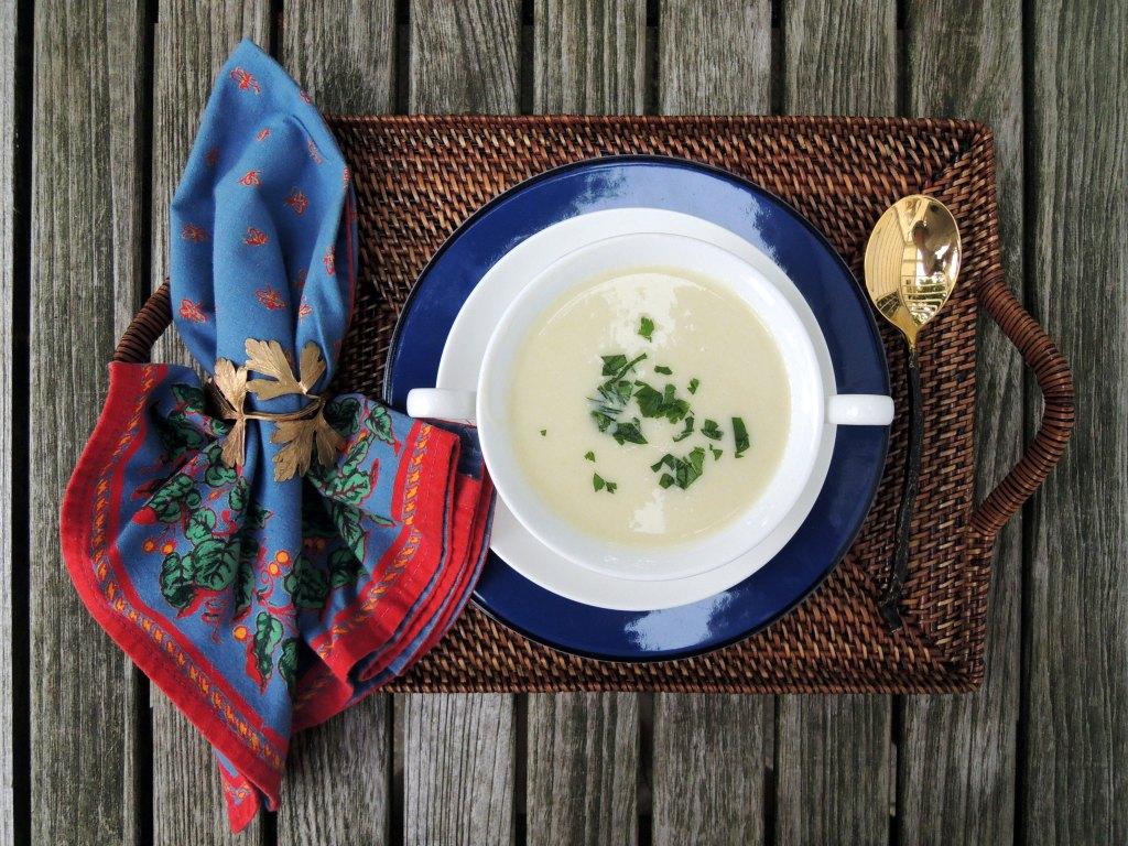 Soups, potato, Vichyssoise 1