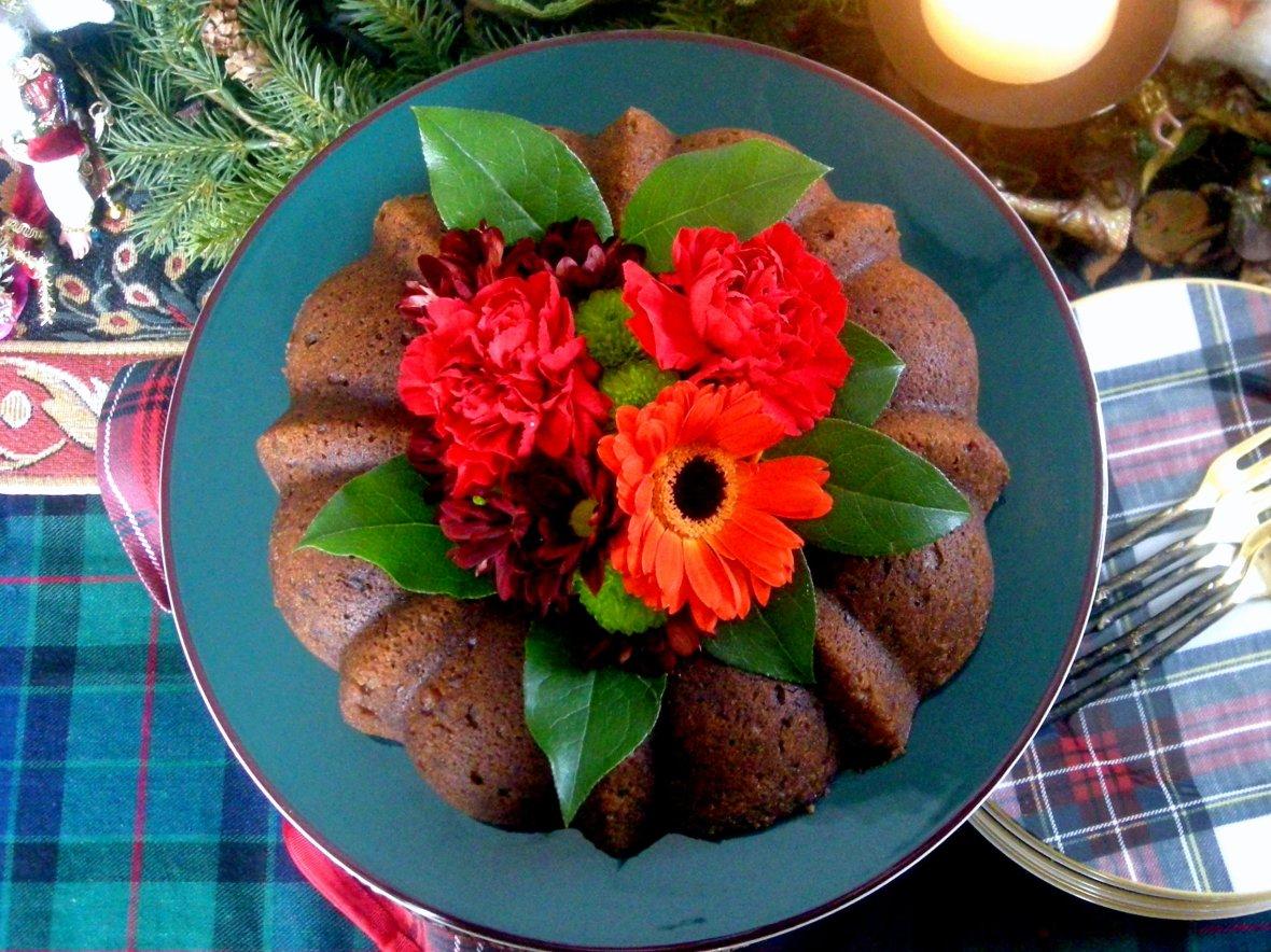 Desserts, cakes, bundt cakes, Rose's orange rum cake 1