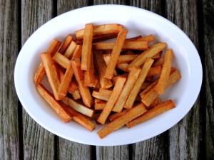 Vegetables, potatoes, fried, Belgian frites 1