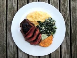 Beef, pan-seared filets mignon with Kentucky bourbon marinade 1