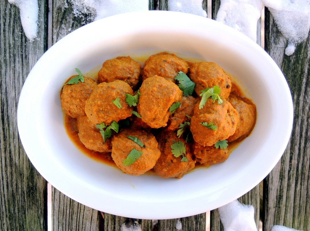 Meatballs, Indian curried meatballs 1a