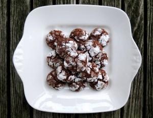 Desserts, cookies, chocolate hazelnut crinkle cookies 1