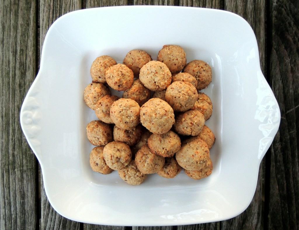 Desserts, cookies, hazelnut cookies 1