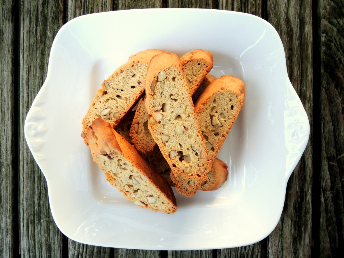 Desserts, cookies, simple almond biscotti 1