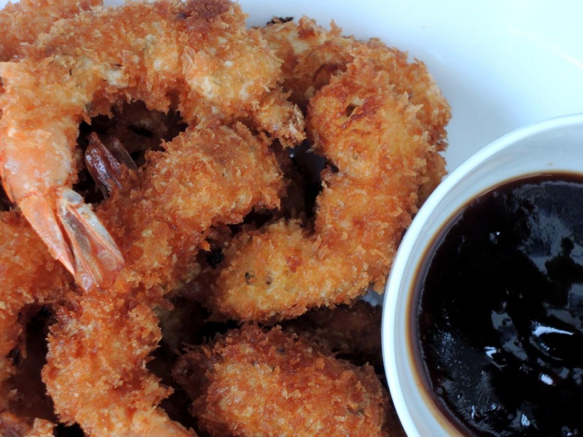 Shrimp, fried, ebi furai (Japanese fried shrimp) 2