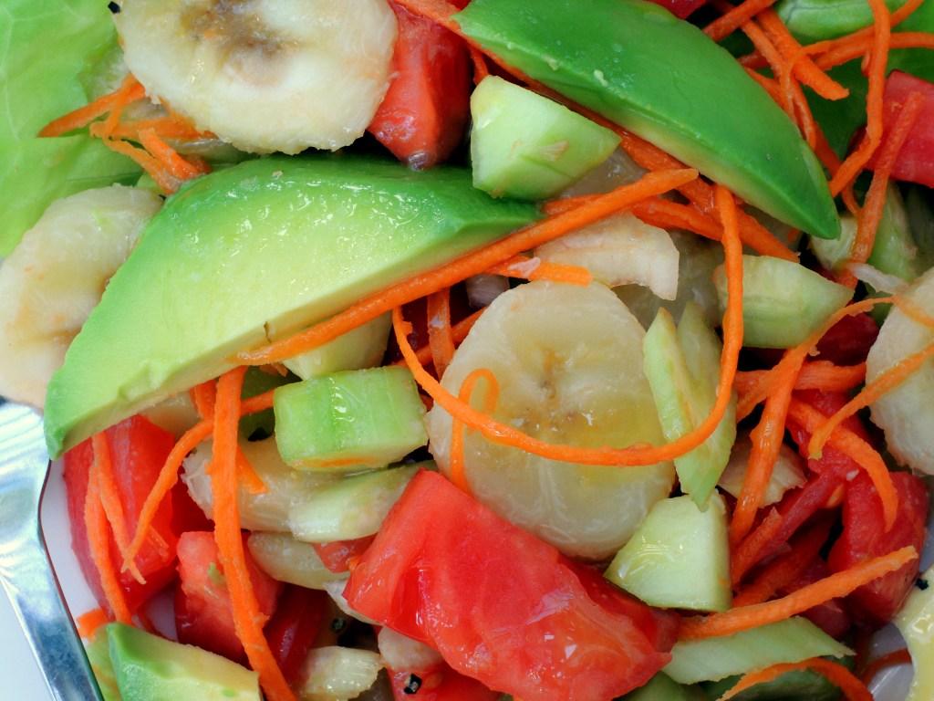 Salads, fruit, la salade de leyritz 3