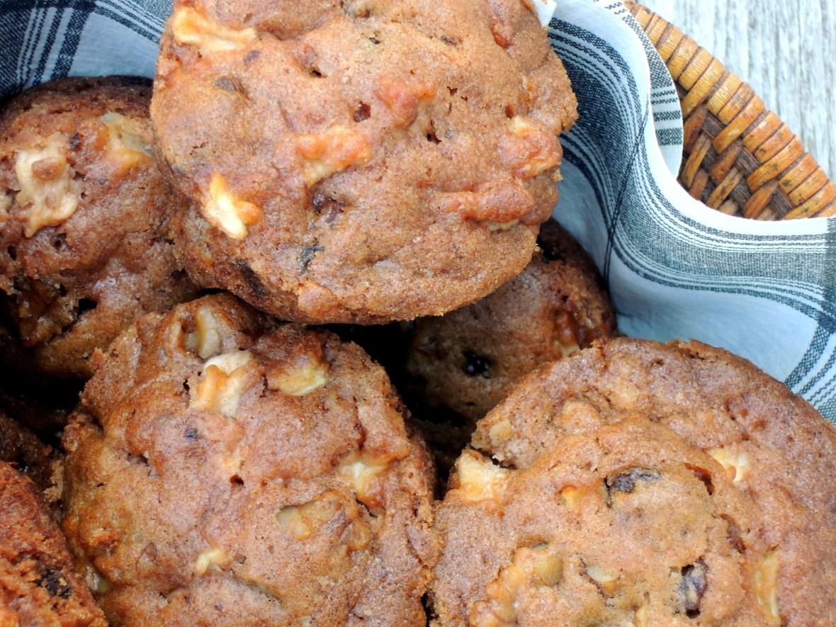 Breads, muffins, Marion Cunningham's raw apple muffins 5.JPG