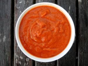 Meatloaf, Market Street meatloaf, tomato red pepper sauce 4