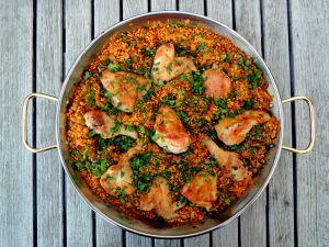 Rice, rice mains, arroz con pollo (Spanish) 1