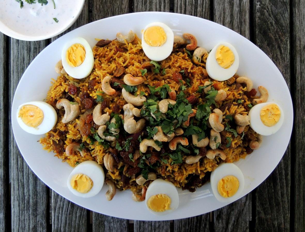 Rice, rice mains, turkey biryani 1