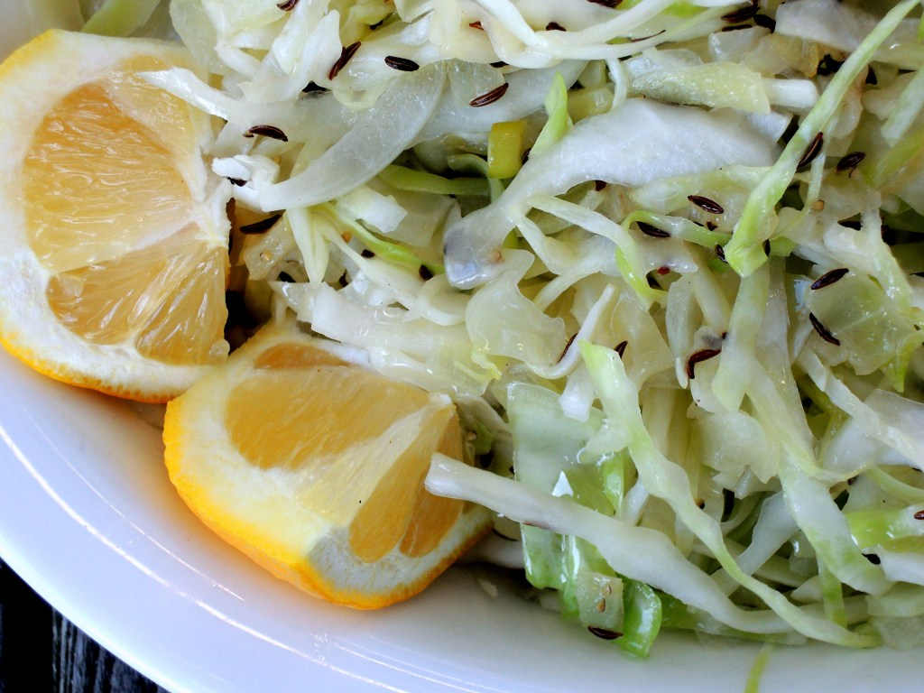 Vegetables, cabbage, sauteed cabbage with caraway 2
